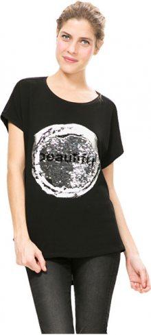 Desigual Dámské triko Bolonia Negro 67T24K3 2000 XL