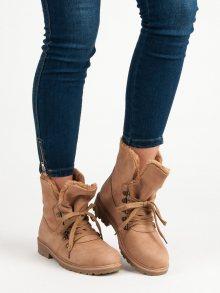 SUPER ME Dámské kotníkové boty 1119-PA-P