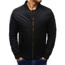 Pánská bunda bomber jacket černá