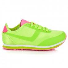 Sportovní zelené dětské boty
