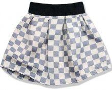 Tmavomodrá sukně kostky K2018