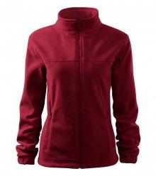 Dámská fleecová mikina Jacket - Marlboro červená | XL