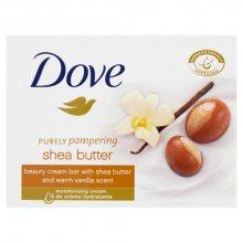 Dove Krémová tableta Purely Pampering s vůní bambuckého másla a vanilky (Beauty Cream Bar)100 g
