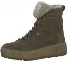 Tamaris Dámské kotníkové boty 1-1-26265-21-722 Olive 38