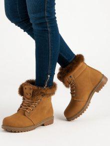 QUEENTINA Dámské kotníkové boty B3148C