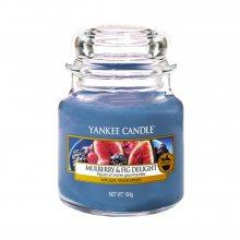 Yankee candle Svíčka Lahodné moruše a fíky, 104 g\n\n