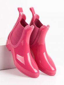 Dívčí růžové holínky