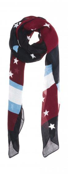 Šátek Tommy Hilfiger | Černá Červená | Dámské | UNI