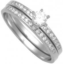 Brilio Silver Sada stříbrných prstenů 31G3038 56 mm