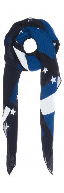 Šátek Tommy Hilfiger   Černá Modrá   Dámské   UNI