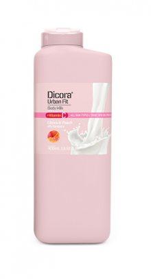 Dicora Tělové mléko s vitamínem C Citrusy & broskev (Body Milk) 400 ml