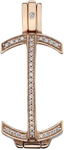 Hot Diamonds Stříbrný přívěsek Emozioni Carezza Coin Keeper RG EK049 50 EK049