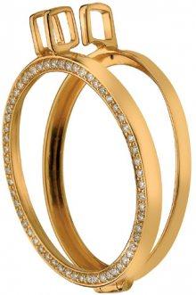 Hot Diamonds Pozlacený přívěsek na elementy Anais s diamantem DP558_DP559 3,3 cm