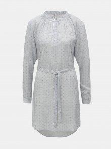 Modro-bílé pruhované šaty s puntíky Blendshe Tint