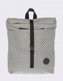 Enter Lifestyle Roll Top Mini Melange Black/Black PolkaDot