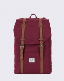 Herschel Supply Retreat Mid-Volume Windsor Wine/Tan
