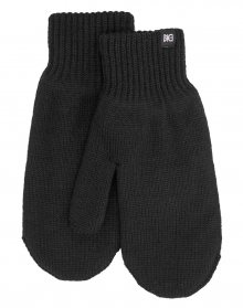Makia Flag Mittens Black