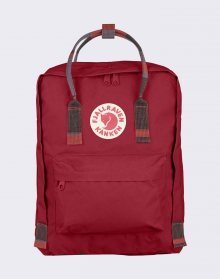 Fjällräven Kanken 325-915 Deep Red/Random Blocked