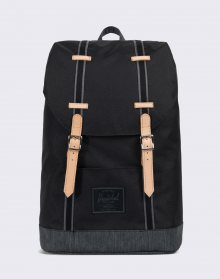 Herschel Supply Offset Retreat Black/Black Denim