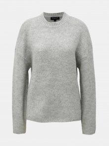 Šedý svetr s příměsí vlny Selected Femme Regina