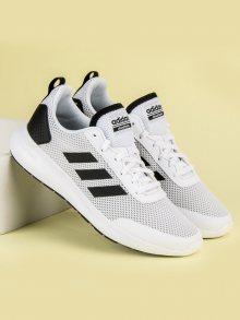 Moderní bílé pánske tenisky od značky Adidas