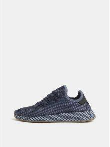 Modré pánské síťované tenisky adidas Originals Deerupt Runner