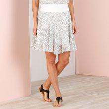 Blancheporte Voálová sukně s potiskem černá/bílá 40