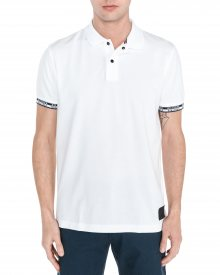 Polo triko Tommy Hilfiger | Bílá | Pánské | XL