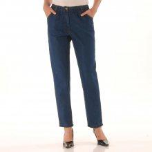 Blancheporte Pohodlné džíny, vyšší postava modrá 38/40