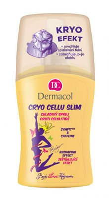 Dermacol Kryo chladivý sprej proti celulitidě Enja (Cryo cellu Slim) 150 ml