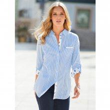 Blancheporte Košile s proužky modrá 42