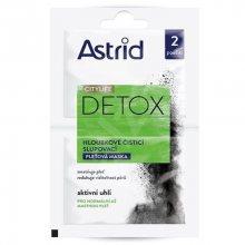 Astrid Hloubkově čisticí slupovací pleťová maska Citylife Detox  2 x 8 ml