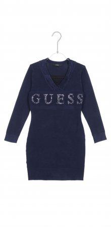 Šaty dětské Guess   Modrá   Dívčí   8 let