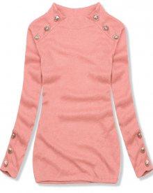 Meruňkový lehký pulovr