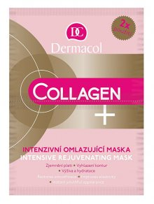 Dermacol Intenzivní omlazující maska Collagen plus (Intensive Rejuvenating Face Mask) 2 x 8 g