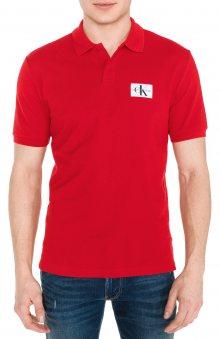 Polo triko Calvin Klein | Červená | Pánské | S