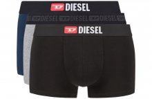 Boxerky 3 ks Diesel | Černá Modrá Šedá | Pánské | L