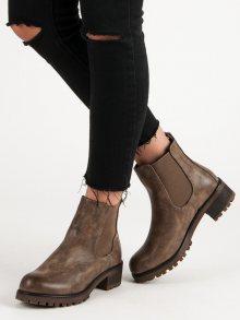 Dámské kotníčkové boty 6356