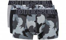 Boxerky 3 ks Diesel | Černá Šedá | Pánské | L