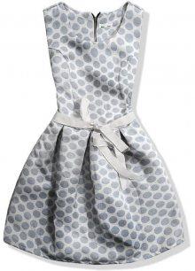 Tmavě modré šaty 8903