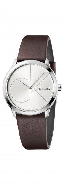 Minimal Hodinky Calvin Klein | Hnědá Stříbrná | Dámské | UNI