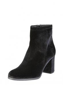 VERSACE 19.69 Kotníkové boty na podpatku MARGUERITE_NERO\n\n
