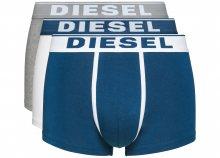 Boxerky 3 ks Diesel   Modrá Bílá Šedá   Pánské   L