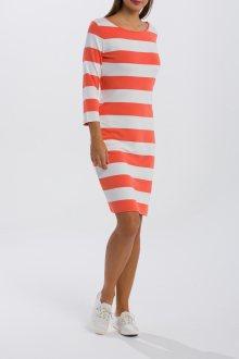 ŠATY GANT O1. BARSTRIPED SHIFT DRESS