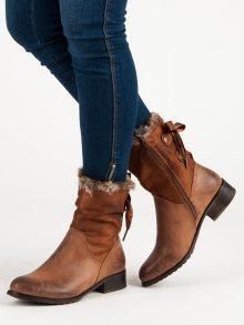 Dámské kotníčkové boty 3088