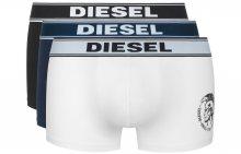 Boxerky 3 ks Diesel | Černá Modrá Bílá | Pánské | L