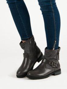 Dámské kotníčkové boty 3045