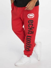 Sweat Pant 2Face in red M