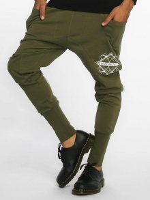 Sweat Pant Birds in olive M