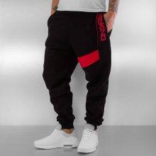 Tepláky New Pockets černá M